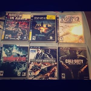 Used video game lot